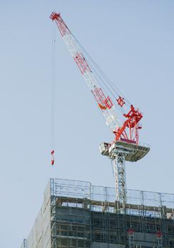 橋本組だからできる鉄骨建方工事画像1