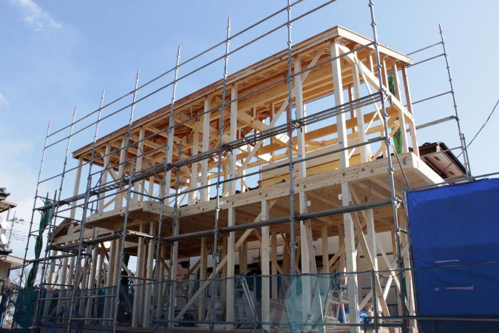 【建方工事】工事の中で最もダイナミックなその工程とは