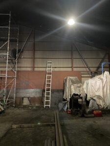 三重県四日市 スクラップ工場の耐震補強工事